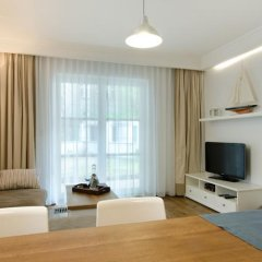 Апартаменты Imperial Apartments - Nautica Сопот комната для гостей фото 4
