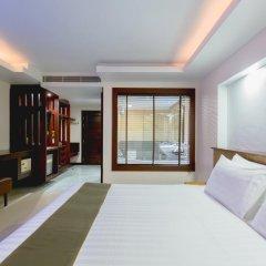 Отель Thanthip Beach Resort 3* Номер Делюкс с двуспальной кроватью фото 13