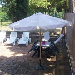 Отель Casetta di Collalto Синалунга бассейн