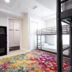 HighRoad Hostel DC Кровать в женском общем номере с двухъярусной кроватью фото 7