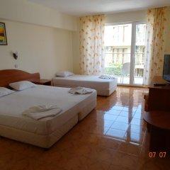 Отель Sunny Болгария, Созополь - отзывы, цены и фото номеров - забронировать отель Sunny онлайн комната для гостей фото 5