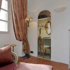 Отель Chateau Le Cagnard Кань-сюр-Мер удобства в номере