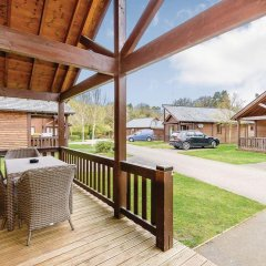 Отель Exmoor Gate Lodges балкон
