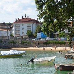 Отель Apartamentos Playa del Sable Испания, Арнуэро - отзывы, цены и фото номеров - забронировать отель Apartamentos Playa del Sable онлайн приотельная территория