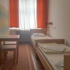 Youth Hostel Zagreb Стандартный номер с различными типами кроватей (общая ванная комната) фото 14