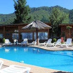 Отель Cabañas Los Tilos бассейн фото 2