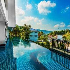 Отель Sea And Sky 1 Br By Pro Phuket бассейн фото 2