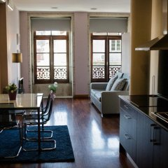 Апартаменты Low Cost Tourist Apartments - Palácio da Bolsa интерьер отеля
