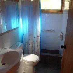 Отель Cabañas Newenpüllü ванная