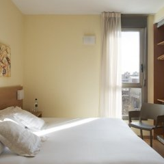 Отель Aura Park Fira Barcelona Апартаменты Премиум с различными типами кроватей