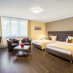 Hotel an der Messe 3* Стандартный номер с различными типами кроватей фото 2