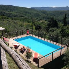 Отель Casale Aiaccia Ареццо бассейн фото 2