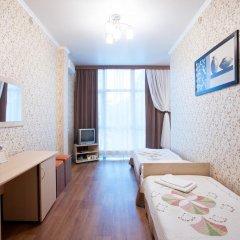 Гостиница Солнечная Стандартный семейный номер с разными типами кроватей фото 4