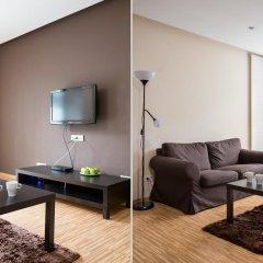 Апартаменты Chopin Apartments Platinum Towers Улучшенные апартаменты с различными типами кроватей фото 9