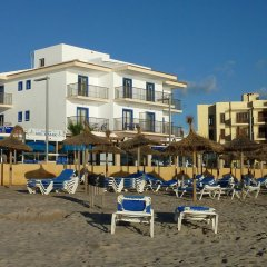 Hotel Sa Roqueta Can Picafort пляж