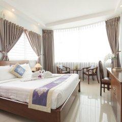 7S Hotel My Anh 2* Номер Делюкс с различными типами кроватей фото 2