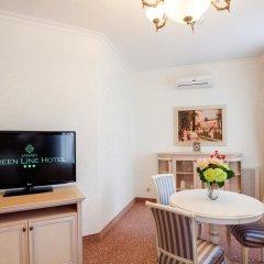 Гостиница Грин Лайн Самара комната для гостей фото 5