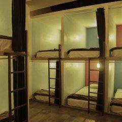 Capsule Hostel Mexico City Кровать в общем номере фото 9