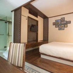 Отель Almanity Hoi An Wellness Resort 4* Улучшенный номер с различными типами кроватей фото 8