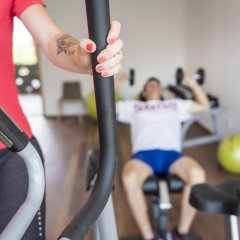 Отель Residence & Sportlodges Claudia Плаус фитнесс-зал