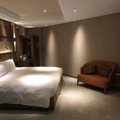 Отель Green World Taipei Station 3* Стандартный номер с различными типами кроватей фото 11