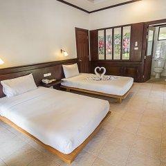 Отель Coco Palm Beach Resort 3* Улучшенное бунгало с различными типами кроватей фото 2