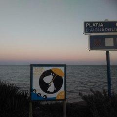 Отель Apartamentos Aigua Oliva пляж фото 2