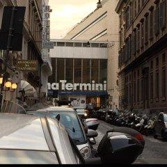 Отель Rome Termini Rooms парковка
