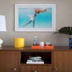 Отель Dream Inn Santa Cruz 4* Стандартный номер с различными типами кроватей