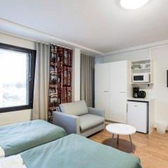 Отель Forenom Aparthotel Helsinki Herttoniemi Стандартный номер с различными типами кроватей фото 17