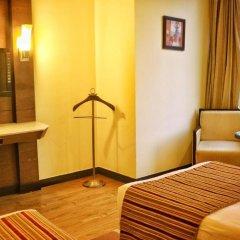Отель City Park Airport 3* Представительский номер с различными типами кроватей фото 14