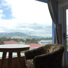 Апартаменты Bach Duong Apartment балкон