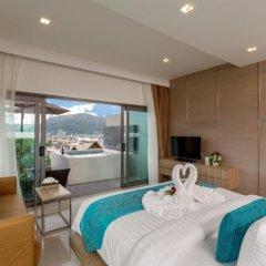 Отель Patong Bay Hill Resort 4* Люкс с двуспальной кроватью фото 6