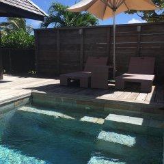 Отель Hilton Moorea Lagoon Resort and Spa 5* Бунгало с различными типами кроватей фото 11