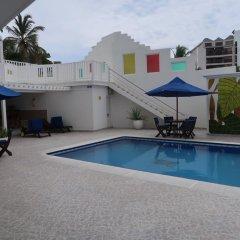 Отель Apartamentos Commodore Bay Club Колумбия, Сан-Андрес - отзывы, цены и фото номеров - забронировать отель Apartamentos Commodore Bay Club онлайн бассейн фото 3