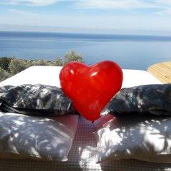 Seaview Faralya Butik Hotel Номер Делюкс с различными типами кроватей фото 12