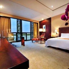 Jin Jiang International Hotel Xi'an 5* Номер Делюкс с различными типами кроватей фото 4