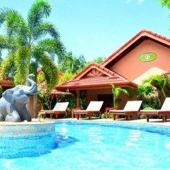 Отель Happy Elephant Resort 3* Номер Комфорт с двуспальной кроватью фото 4