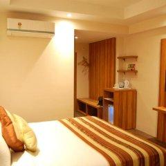 Отель Le ROI Raipur 3* Стандартный номер с различными типами кроватей фото 3