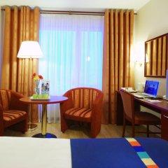 Гостиница Park Inn by Radisson Poliarnie Zori, Murmansk 3* Стандартный номер разные типы кроватей фото 2