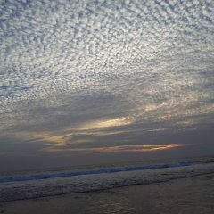 Отель Blue Ocean Villa Хиккадува пляж фото 2
