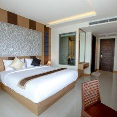 Отель Aqua Resort Phuket 4* Стандартный номер с двуспальной кроватью фото 5