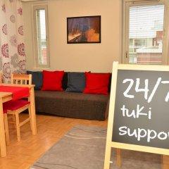 Апартаменты Helppo Hotelli Apartments Rovaniemi Студия с различными типами кроватей фото 15