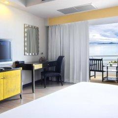 Отель D Varee Jomtien Beach 4* Представительский номер с различными типами кроватей фото 3