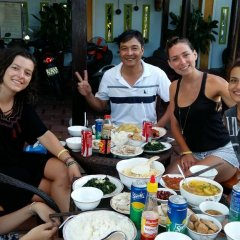 Отель Lam Chau Homestay питание