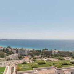 Отель Pierre & Vacances Residence Cannes Villa Francia Франция, Канны - отзывы, цены и фото номеров - забронировать отель Pierre & Vacances Residence Cannes Villa Francia онлайн пляж фото 2