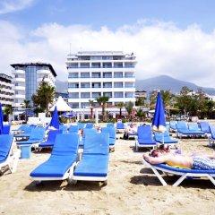 Azak Beach Hotel пляж фото 2