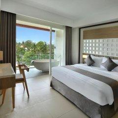 Отель Jimbaran Bay Beach Resort & Spa 4* Улучшенный номер с различными типами кроватей фото 3
