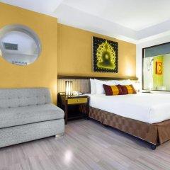 Отель D Varee Jomtien Beach 4* Представительский номер с различными типами кроватей фото 2