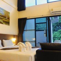 The Wave Patong Boutique Hotel 3* Номер Делюкс с разными типами кроватей фото 5
